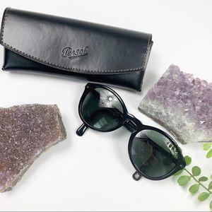 Persol Havana Black Green Polarized Sunglasses